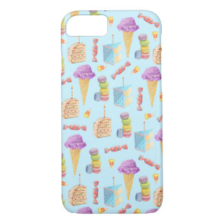 Fun Birthday Treats Pattern iPhone 7 Case