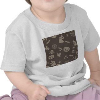 Fun Black & Grey Halloween Design Shirt