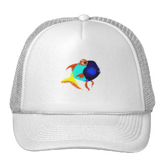 Fun Blue Fish Hat