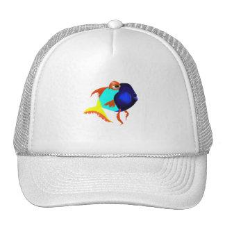 Fun Blue Fish Hat