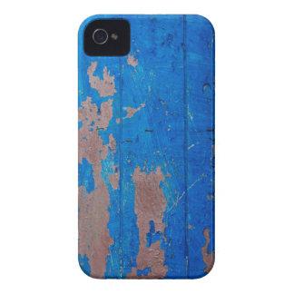 Fun Blue Grunge Texture iPhone 4 Cases