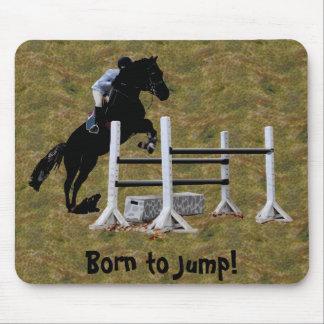 Fun Born to Jump Equestrian Mousepad