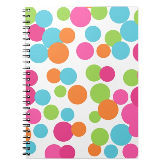 Fun Bouncing Dots Notebook