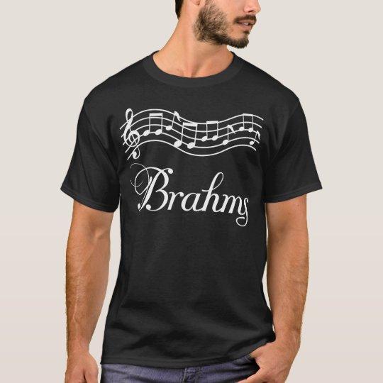 Fun Brahms Classical Music Notes T-Shirt