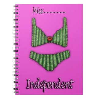 Fun, Bright and colourful ladies note book. Notebooks