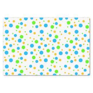 Fun Bright Dots Tissue Paper