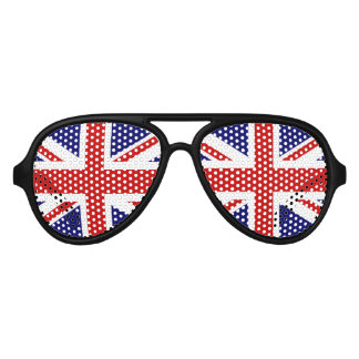 Fun British flag party glasses | Union Jack shades