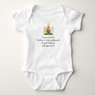 Fun British Royal Wedding souvenir kids outfit Infant Creeper