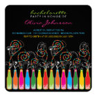 Fun Bubbly Celebrations Bachelorette Party Invite