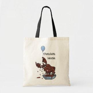 Fun Budget Tote Bag, Chocolate Moose