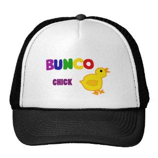 Fun Bunco Chick Art Cap