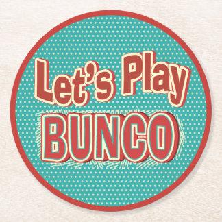 Fun Bunco Coaster - Let's Play Bunco