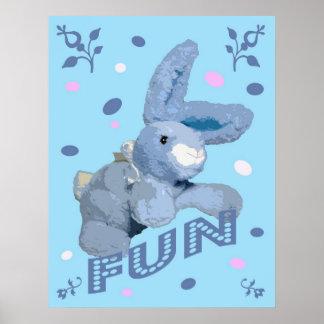 Fun Bunny Posters