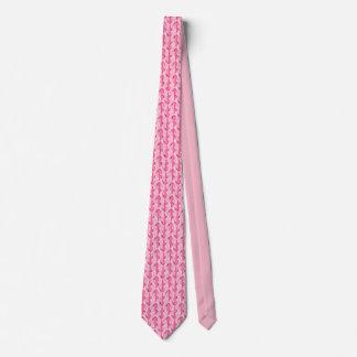 fun cactus pink pattern tie