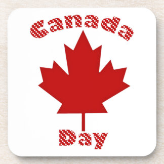 Fun Canada Day Tees and Gifts for Kids and Adults Drink Coaster