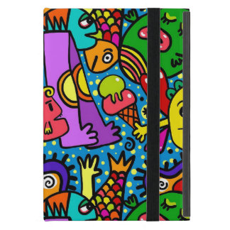 Fun Cartoon Doodle iPad Mini Cover