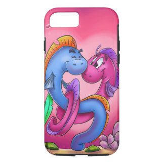 Fun cartoon eel fish iPhone iPhone 7 Case