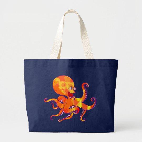 Fun Cartoon Octopus Bag