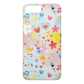 fun cartoon pattern iPhone 8 plus/7 plus case