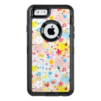 fun cartoon pattern OtterBox iPhone 6/6s case