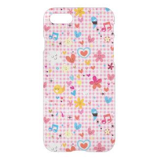 fun cartoon pattern pink iPhone 8/7 case