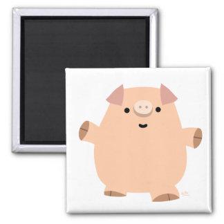 Fun Cartoon Pig magnet