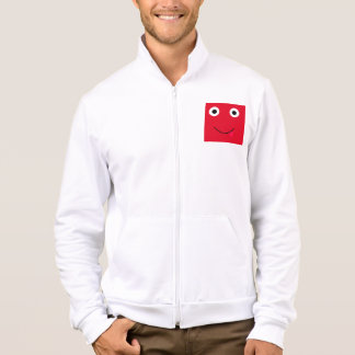 Fun Character Jacket For Men: Red