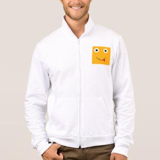 Fun Character Jacket For Men: Yellow