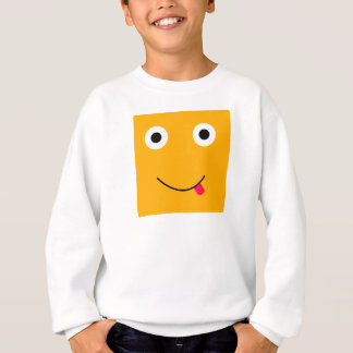 Fun Character Sweatshirt For Kids: Yellow