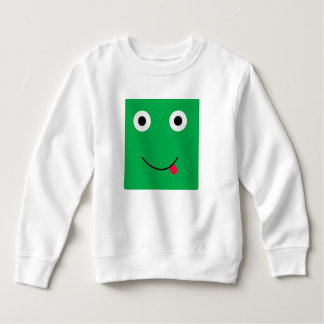 Fun Character Sweatshirt For Toddlers: Green