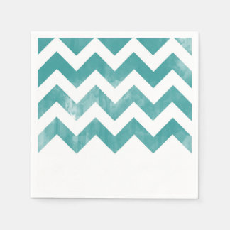Fun Chevron Cocktail Napkins Disposable Serviette