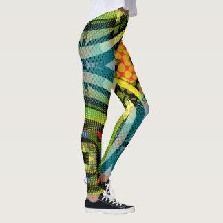 Fun Chic  Abstract Leggings
