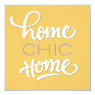 Fun & Chic Housewarming Party Invitation