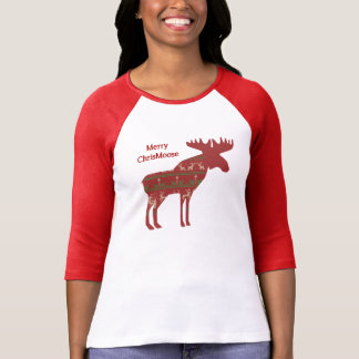 Fun Christmas Moose in Sweater Design Chrismoose