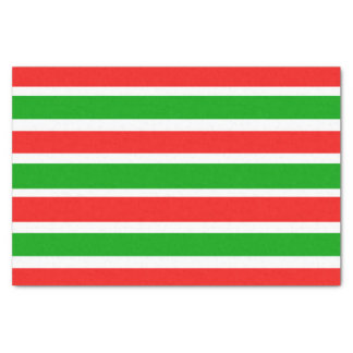 Fun Christmas Stripes Tissue Paper