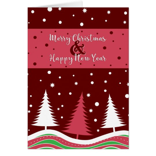 Fun Christmas Trees Card