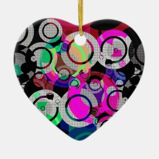 Fun Circles and Oddities Christmas Ornament