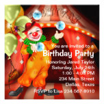 Fun Circus Clown Birthday Party