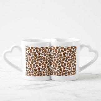 Fun Coffee Bean Design Lovers Mugs