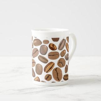 Fun Coffee Bean Design Porcelain Mug