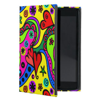 Fun & Colorful Abstract iPad Mini Cover