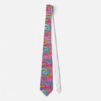 Fun Colorful Design Tie