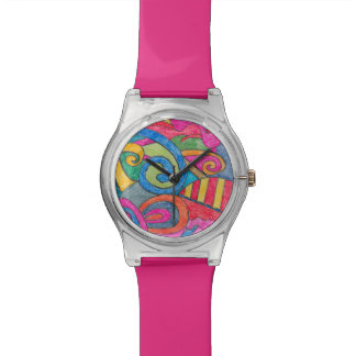 Fun Colorful Design Watch