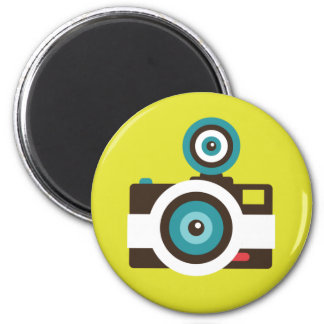 Fun Colorful FishEye Camera Photographer Magnet