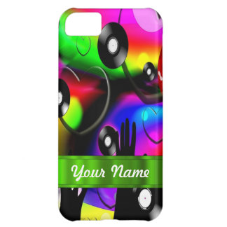Fun colorful party design iPhone 5C case