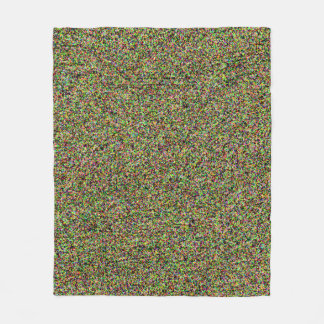 Fun Colorful Sand Pattern Design Cool Fleece Blanket