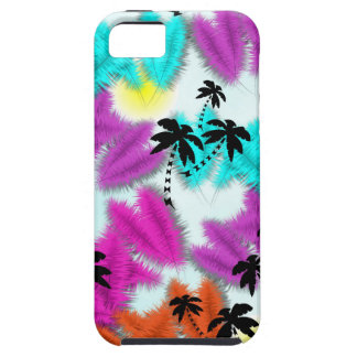 Fun Colorful Tropical Holiday Palm Trees iPhone 5 Case