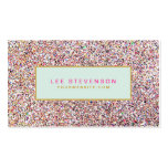 Fun Colourful Glitter Beauty Salon and Boutique Pack Of Standard Business Cards