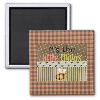Fun Comic Bee Little Things Fridge Magnet