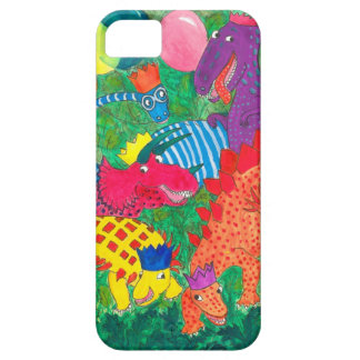 Fun Comical Brightly Coloured Monsters iPhone 5 Cover